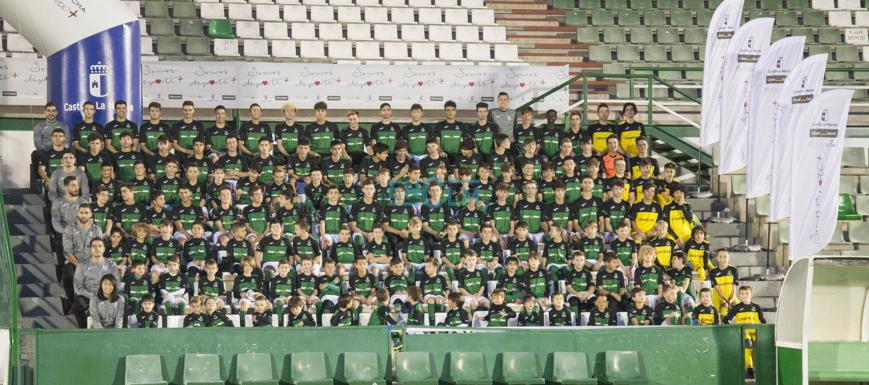 Presentación de la Escuela de Fútbol Base del CD Toledo