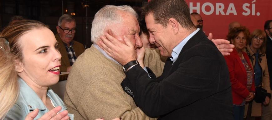 El PSOE (a la cabeza su secretario general en CLM, Emiliano García-Page) eligió Illescas para el arranque de la campaña