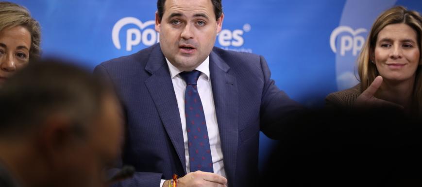 Paco Núñez ha hecho un balance de la gestión del PSOE en 2019, en nombre del PP