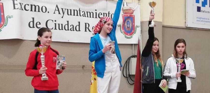 Buena actuación del Club de Esgrima Toledo en el Regional de Menores