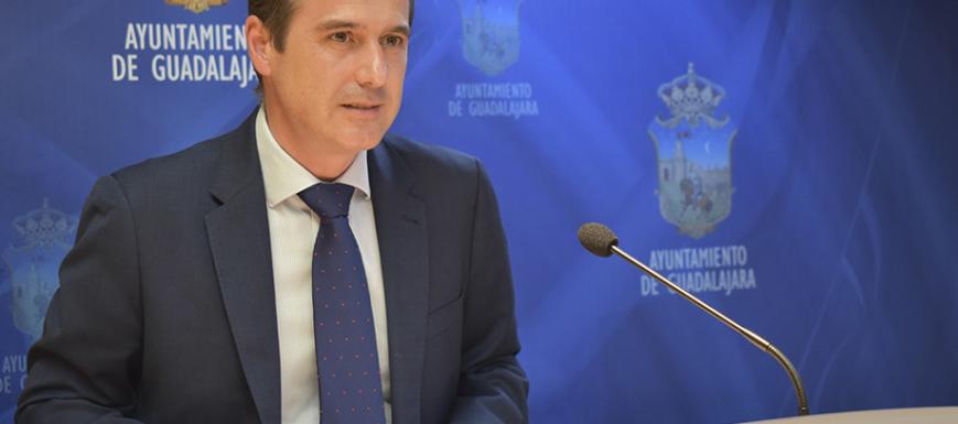 Alberto Rojo, alcalde de Guadalajara, ha hablado de as ayudas