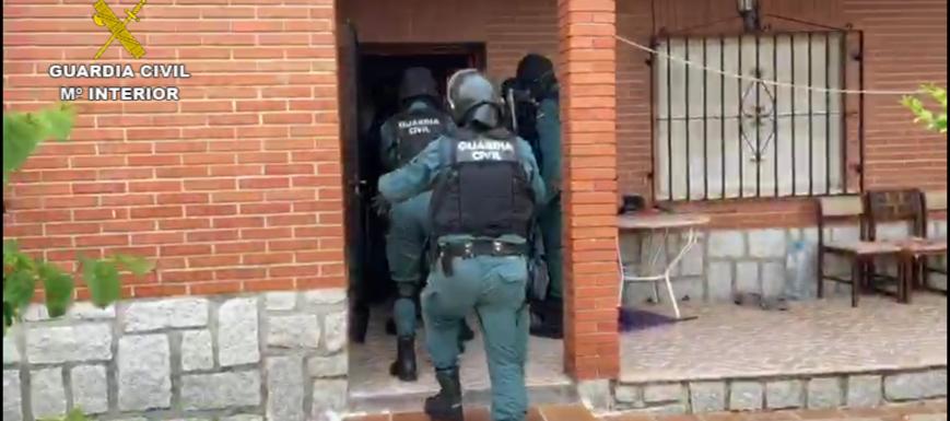 Operación de la Guardia Civil contra el tráfico de drogas
