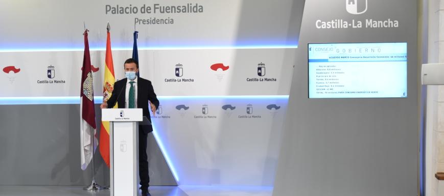 José Luis Escudero ha presentado las ayudas